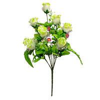 Искусственные цветы роза с ромашкой С - 54/10
