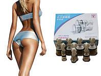 ВАШ ВЫБОР! Вакуумные банки с винтом Yifang Cupper YFC-8 для массажа и профилактики заболеваний, вакуумные банки, вакуумные банки с насосом, вакуумные