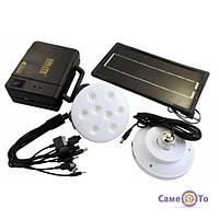 Набір ламп на сонячній батареї GDLITE GD-8006, 1000442, лампи на сонячних батареях, світлодіодні лампи на сонячних батареях, набір ламп на сонячною