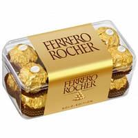 Шоколадные конфеты Ferrero Rocher 16 штук 200 г