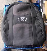Автомобильные чехлы на сидения PREMIUM LADA VESTA 2015г… з/сп 1/3 2/3;5подгол;передний подлокотник
