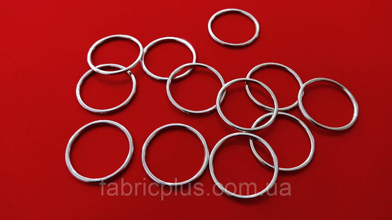 Регулятор кольцо цельнометаллическое 1,4 см никель