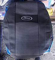 Автомобильные чехлы на сидения PREMIUM FORD FUSION 2002-12г. з/сп закрытый тыл и сид.1/3 2/3;4подгол;airbag