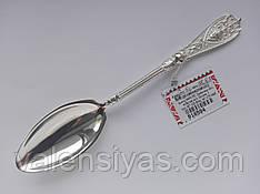 Серебряная ложка десертная. Столовое серебро.