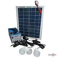 Автономний акумулятор на сонячній батареї Solar Home System GDLite GD-8018, 1001208, 0