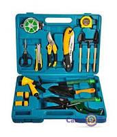 Набір садових інструментів 16 предметів в кейсі, 1001510
