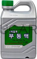 Mobis Long Life Coolant зеленый антифриз концентрат Hyundai, 2 л (07100-00200)