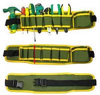 Пояс с карманами для инструментов, сумка-пояс для инструментов 4000990 пояс для инструментов, сумка для инструмента на пояс, сумка пояс для