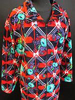 Красивые женские халаты из велюра., фото 1