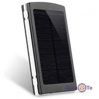 Портативна зарядка PowerBank Solar25000 на сонячній батареї, 1001564, 0