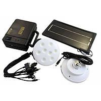 Набор ламп на солнечной батарее GDLITE GD-8006, 1000442, лампы на солнечной батареи, набор ламп на солнечной батарее, переносная подзарядка, GDLITE