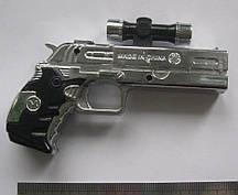 Зажигалка-пистолет 10 х 8 х 1,5 см.
