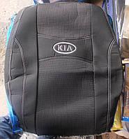 Автомобильные чехлы на сидения PREMIUM KIA SPORTAGE JE 2004-10г.з/сп закрытый тыл и сид.2/3 1/3;подлок;5подгол.
