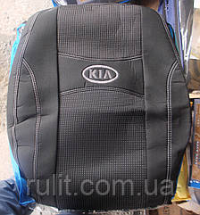 Чехлы Nika на сиденья KIA Rio III hatchback 2011 автомобильные модельные чехлы на для сиденья сидений салона
