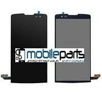 Оригинальный Дисплей (Модуль) + Сенсор (Тачскрин) для LG H320 Leon Y50 | H324 Leon Y50 | H340 Leon (Черный)
