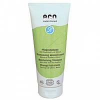 Eco cosmetics Шампунь увлажняющий с экстрактом листьев оливы и мальвы, 200 мл