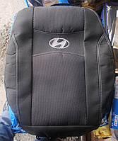 Автомобильные чехлы на сидения PREMIUM HYUNDAI GETS 2002-11г. раздельный з/сп закрытый тыл и сид.2/3 1/3;5подг;airbag