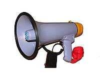 Рупор-мегафон ручной переносной MANSONIC HMP 1503, 15 Вт, 1000846, громкоговорители рупорные, ручной мегафон, рупор, переносные мегафоны, переносные