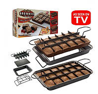 Формы для выпечки Perfect Brownie Перфект Брауни, 1000867, Perfect Brownie, перфект брауни, антипригарная форма для выпечки, форма для выпечки