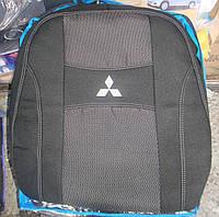 Автомобильные чехлы на сидения PREMIUM MITSUBISHI L 200 2006-15г.з/сп цельная;подлок;5подгол;airbag