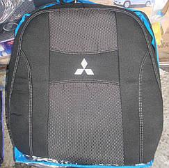 Автомобильные чехлы Nika на сиденья Mitsubishi L200 2006-15 Митсубиси Л200