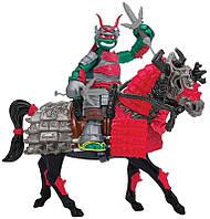 Игровой набор TMNT серии Черепашки-Ниндзя Самураи – Эксклюзивная фигурка Рафаэля на лошади (94270)