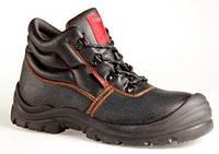 Ботинки рабочие кожаные на полиуретановой подошве