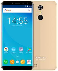 "OUKITEL C8 gold 2/16 Gb, 5.5"", MT6580A, 3G"
