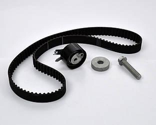 Комплект натяжитель + ремень ГРМ на Renault Kangoo II 2008->  1.5dCi  — Renault (Оригинал) - 7701477028