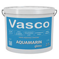 Эмаль акриловая матовая белая на водной основе Aquamarin 0,9 л