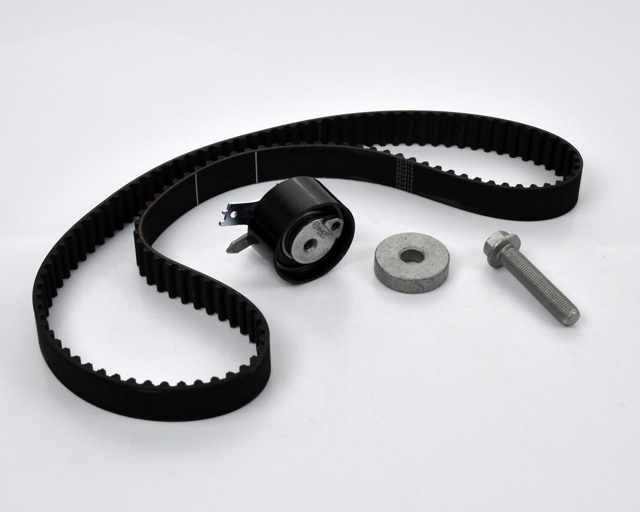 Комплект натяжитель + ремень ГРМ на Renault Kangoo 2003->2008 1.5dCi — Renault (Оригинал) - 7701477028