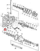 Кольцо уплотняющее 49х68х10/13 (Corteco) John Deere, код запчасти AZ41926.P