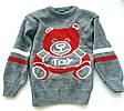 Детский свитер на мальчика (мишка)