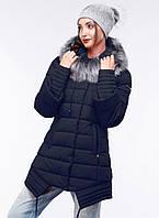 Зимнее пальто женское А силуэта.