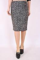 Юбка большого размера Драповая, юбка прямая, юбка миди, черная юбка, для офиса, для школы