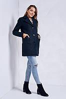 Классическое шерстяное пальто на зиму на пуговицах