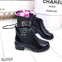 Женские зимние ботинки натуральная кожа,размер в размер., фото 1