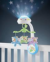 Мобиль проектор на детскую кроватку Мечты о бабочках Fisher Price CDN41