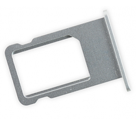 Лоток для сим карты iPhone 5S, SE, серебристый
