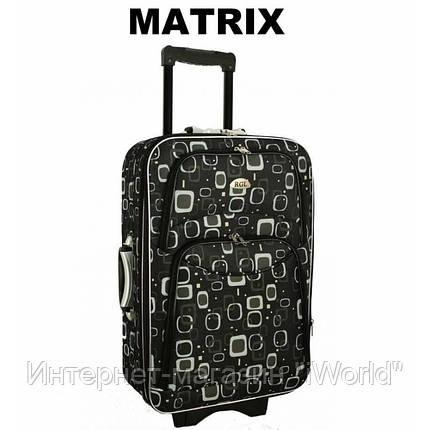Дорожный чемодан на 5-х колесах (большой) RGL 773 цвет матрикс, фото 2