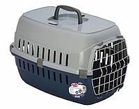 Контейнер-переноска для кошек PetNova Securetrans синий