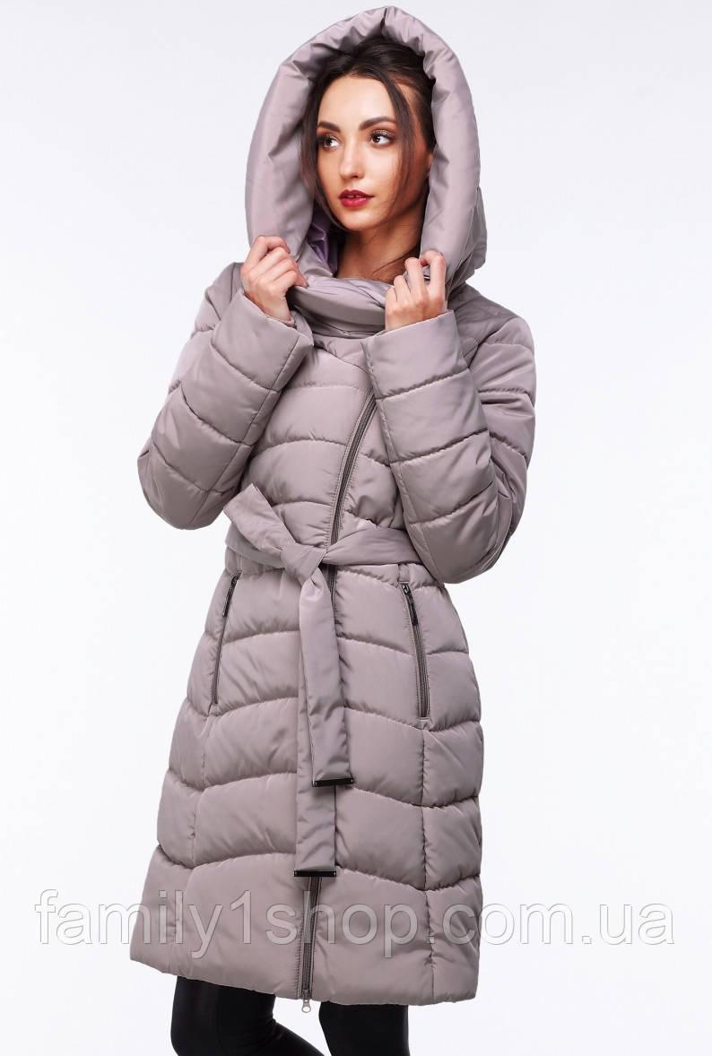Женское зимнее пальто с капюшоном.  продажа b64c079346462