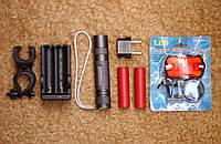 Набор Две Батареи Sanyo, Двойная зарадка, Фонарь Convoy S2+ Cree XM-L2 U2 A1