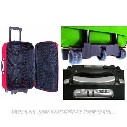 Дорожный чемодан на 5-х колесах (малый) RGL 773 цвет матрикс, фото 2