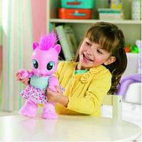Интерактивная малютка пони Пинки Пай Учимся ходить My Little Pony на русском языке