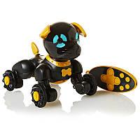 Інтерактивний робот-щеня Chippies WowWee чорний (W2804/3819)