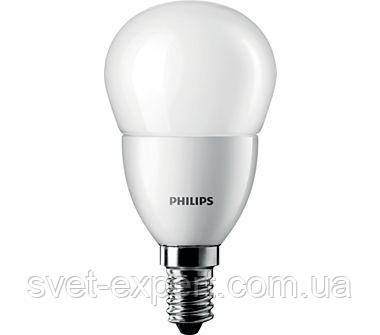 CorePro luster ND 6-40W E14 827 P48 FR Philips шар, фото 2