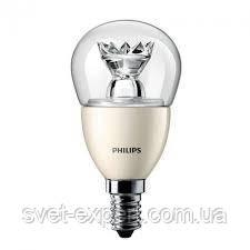 MAS LEDluster D 6-40W E14 827 P48 CL Philips  шар светодиодная