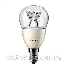 MAS LEDluster D 6-40W E14 827 P48 CL Philips  шар светодиодная, фото 2