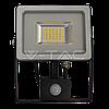 Св/діодний прожектор V-TAC з датчиком руху 50Вт smd чорний 6000К